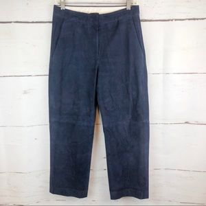 J. Crew | Suede Ankle Pant, Size 2
